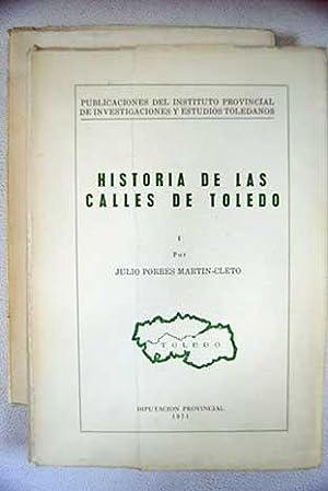 Historia de las calles de Toledo: Porres Martín-Cleto, Julio