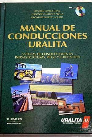 Manual de conducciones uralita: sistemas de conducciones: Suárez López, Joaquín