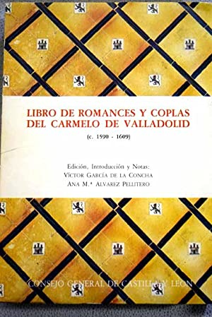 Libro de romances y coplas del Carmelo: Victor Garcia de