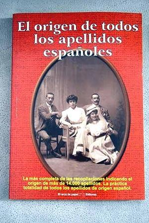 El origen de todos los apellidos españoles: Solís Miranda, José