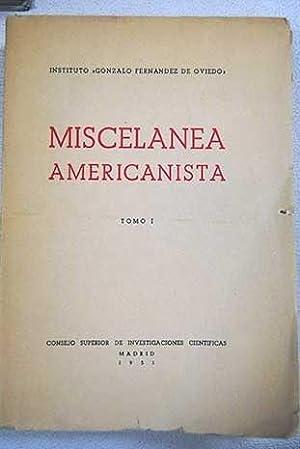 Miscelánea americanista: [Homenaje a D. Antonio Ballesteros: VV. AA