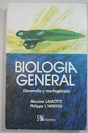 Biología general III. Desarrollo y morfogenesis: Lamotte, Maxime