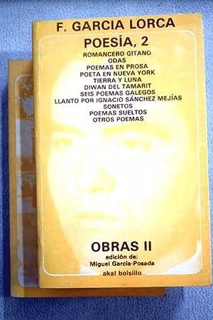 Obras. Poesía: García Lorca, Federico
