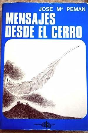 """Mensajes desde """"El Cerro"""": Pemán, José María"""