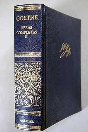 Obras completas. Tomo II:: Farsas de antruejo: Goethe, Johann Wolfgang