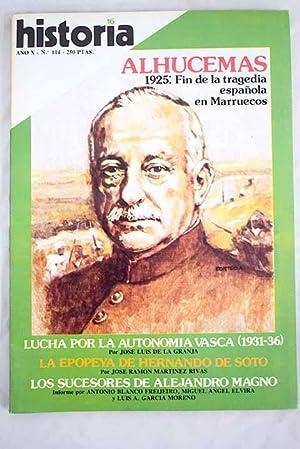 Historia 16, Núm. 114, Octubre 1985: Alhucemas