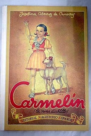 Carmelín: (la niña diablillo) : libro de: Álvarez de Cánovas,