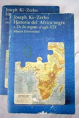 Historia del África negra: Ki-Zerbo, Joseph