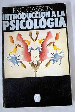 Introducción a la psicología: Casson, Frederick Ronald