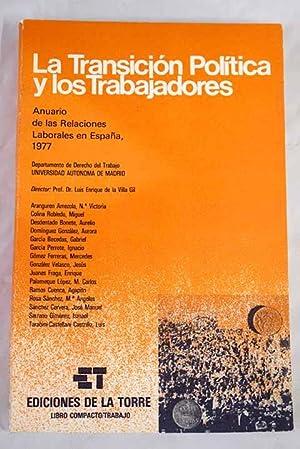 Anuario de las relaciones laborales en España,: Villa Gil, Luis