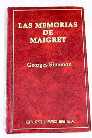 Las memorias de Maigret: SIMENON, Georges