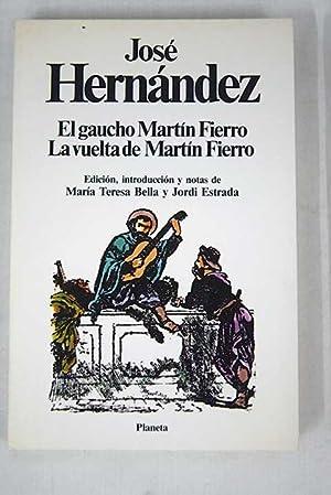 El gaucho Martin Fierro. Ilustr. de R. Paez.