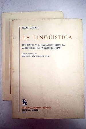 Linguistica: sus textos y su evolución desde