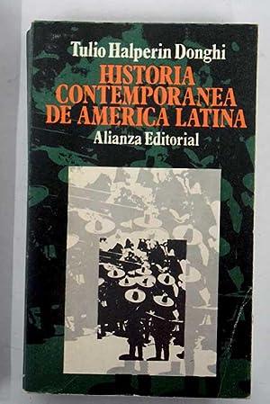 Historia contemporánea de América Latina: Halperin Donghi, Tulio