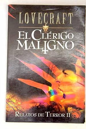 Relatos de terror, tomo 2:: El Clérigo: Lovecraft, H. P.