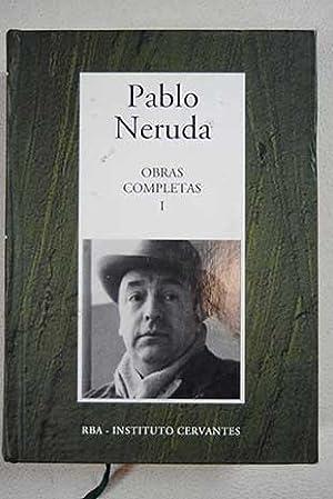 Obras completas, Tomo I:: Crepusculario ; El: Neruda, Pablo