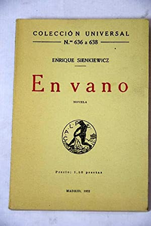 En vano: Sienkiewicz, Henryk