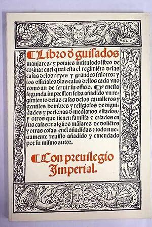 Libro de guisados, manjares y potajes intitulado: Nola, Ruberto de