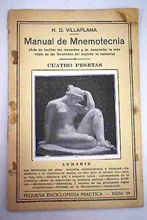 Manual de Mnemotecnia: Villaplana, H. D.