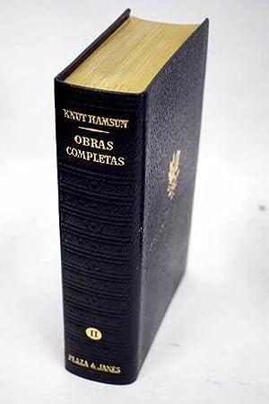 Obras completas II, Novelas II:: Bajo las: Hamsun, Knut