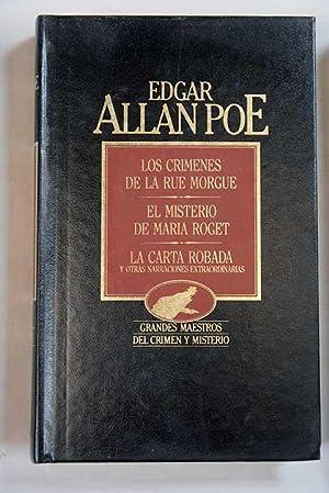 Los crímenes de la rue Morgue ;: Poe, Edgar Allan
