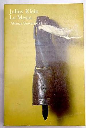 La Mesta: estudio de la historia económica: Klein, Julius