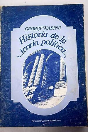 Historia de la teoría política: Sabine, George Holland
