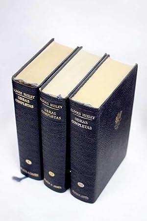 Obras completas: Huxley, Aldous