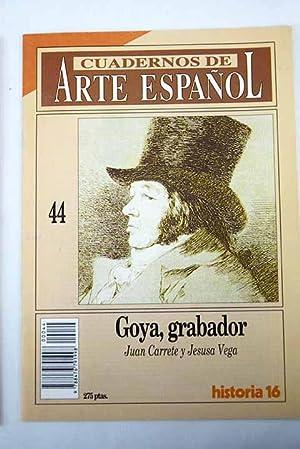 Goya grabador: Carrete Parrondo, Juan