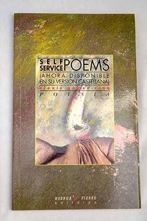 Self service poems: (ahora disponible en su: Gómez-Rosa, Alexis