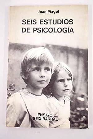 Seis estudios de psicología: Piaget, Jean
