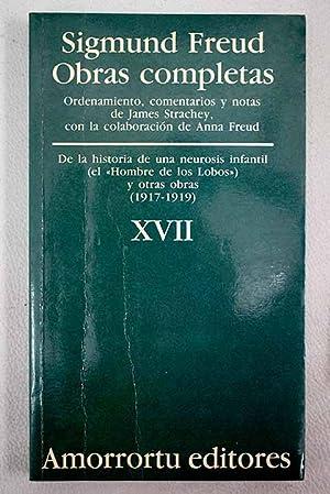 Obras completas, tomo XVII: Freud, Sigmund