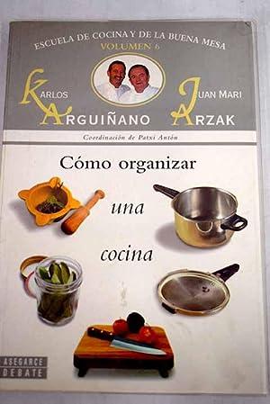 karlos arguiñano - escuela cocina buena mesa - Iberlibro