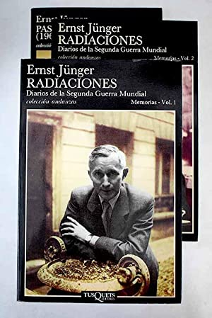 Radiaciones by Junger, Ernst: tapa blanda (1989)   Alcaná