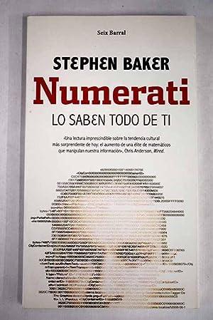 Numerati: Baker, Stephen
