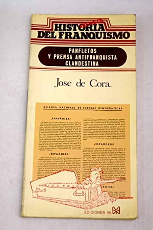 Panfletos y prensa antifranquista clandestina
