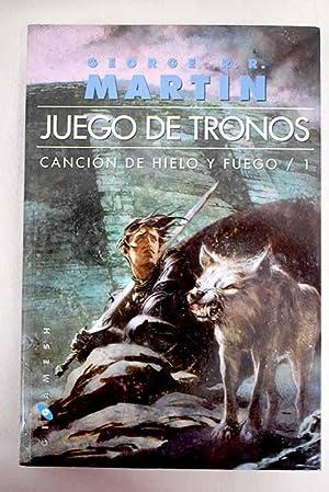 Juego de tronos: Canción de hielo y: Martin, George R.