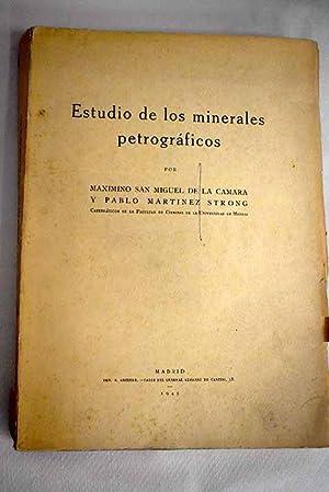 Estudio de los minerales petrográficos: San Miguel de