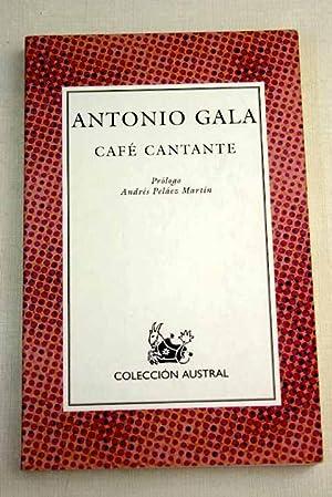Café cantante: Gala, Antonio