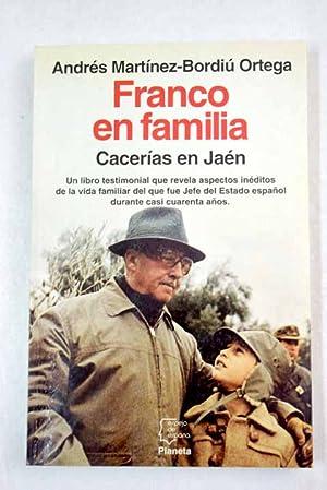 Franco en familia: cacerías en Jaén: Martínez-Bordiú Ortega, Andrés