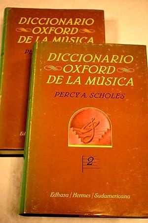 Diccionario Oxford de la música: Scholes, Percy A.