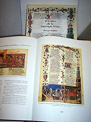 Códice de la Guerra de Troya (Ms. Prov Fr. Fv.XIV3) (2 tomos): Benoît de Saínt Maure