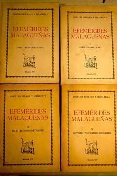 Efemérides malagueñas: Estrada Segalerva, José Luis