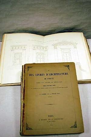 Les dix livres d'architecture de Vitruve avec: TARDIEU, E. &
