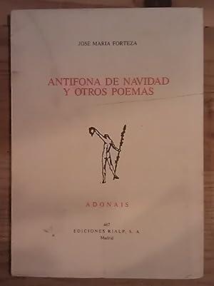 Antífona de Navidad y otros poemas: Forteza, José María