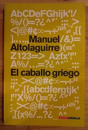 El caballo griego: Altolaguirre, Manuel
