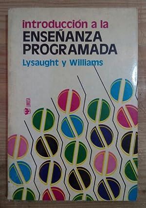 Introducción a la enseñanza programada: Lysaught, Jerome P.