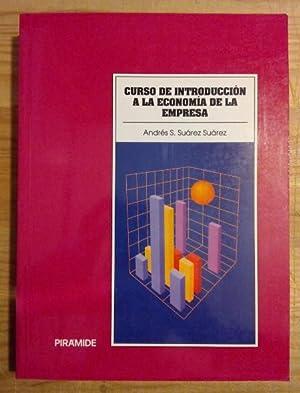 Curso de introducción a la economía de: Suárez Suárez, Andrés-Santiago