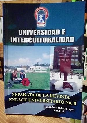Universidad e interculturalidad. Separata de la revista: VV.AA.