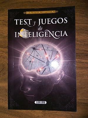 Test y juegos de inteligencia: Pablo Escalera